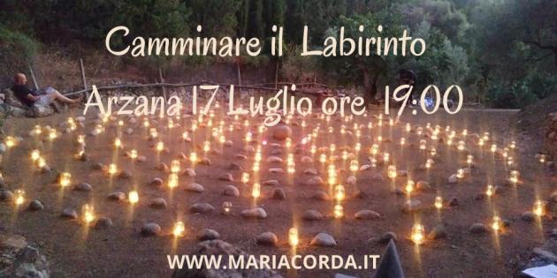 il labirinto e Dea Madre di Maria Corda